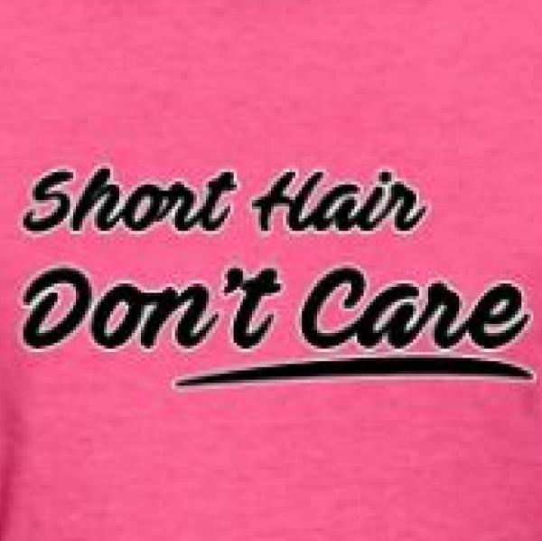 SHORT HAIR DON'T CARE Team Logo