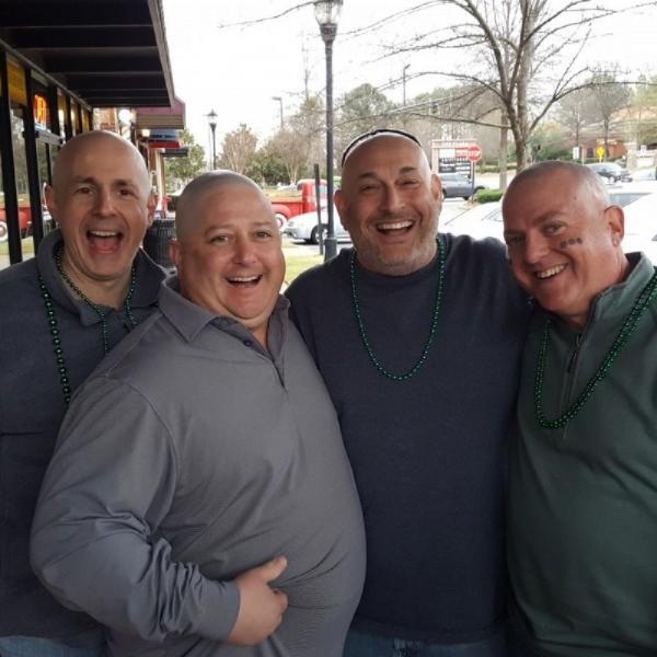 The Bald Mitzvahs Team Logo
