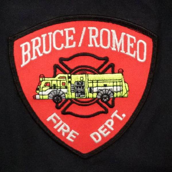 Bruce-Romeo Fire Dpt. Team Logo