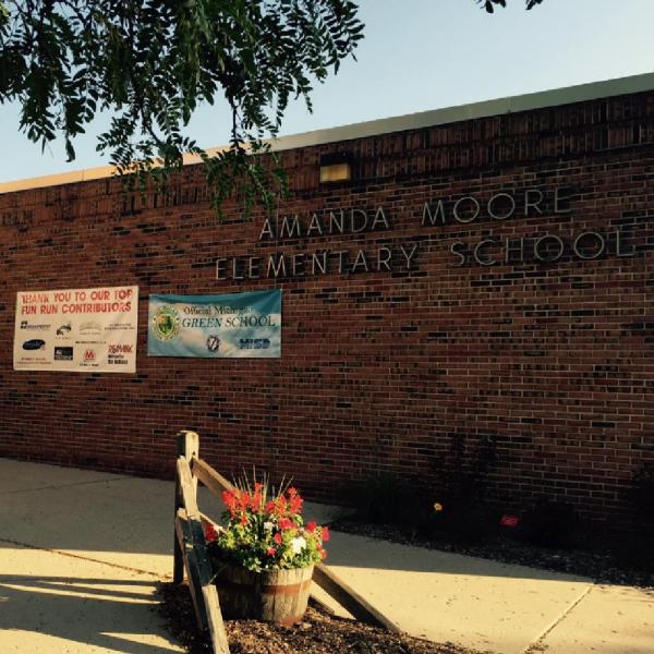 Amanda Moore Elementary School Team Logo