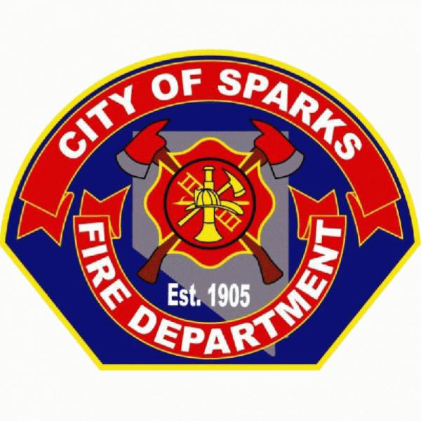 Sparks Firefighters Team Logo