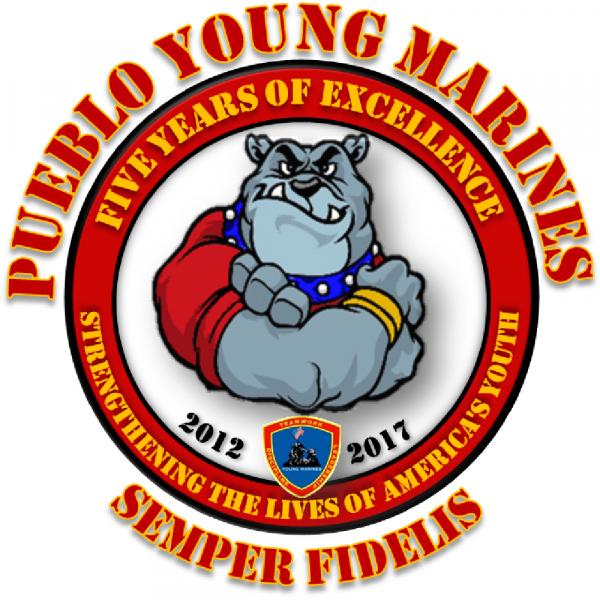 Pueblo Young Marines Team Logo