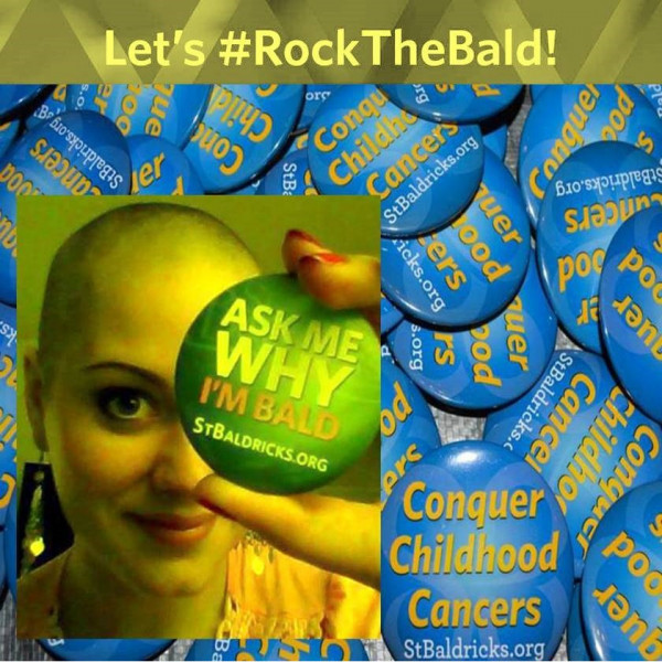 Rocking Bald For The Cause Team Logo