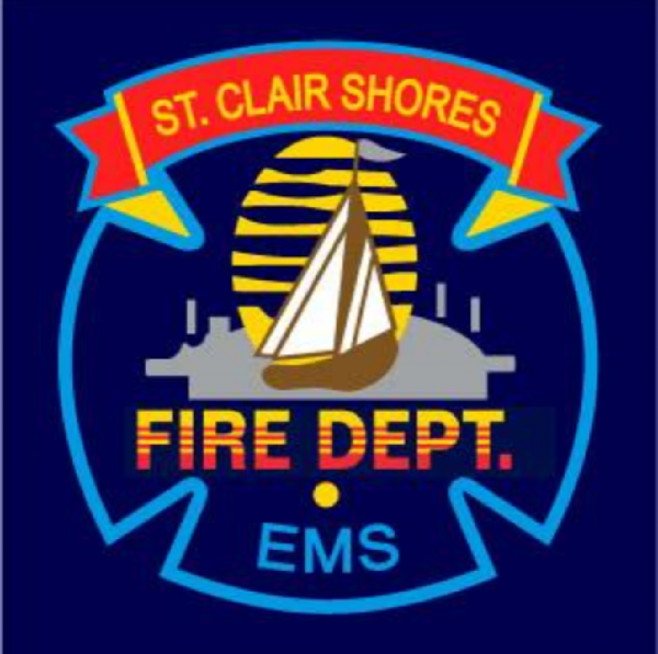 St. Clair Shores Firefighters Team Logo