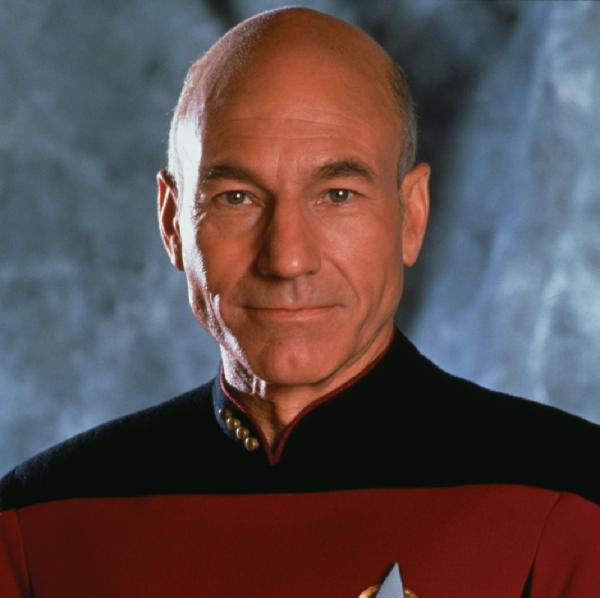 Starfleet's Baldest Team Logo