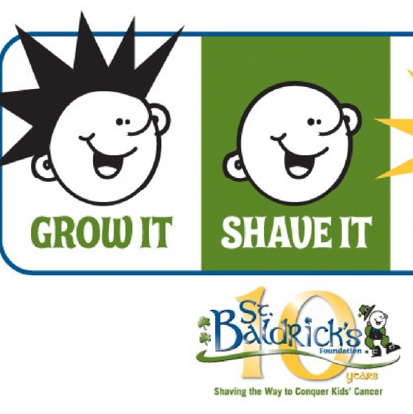 Bald For Kids Team Logo