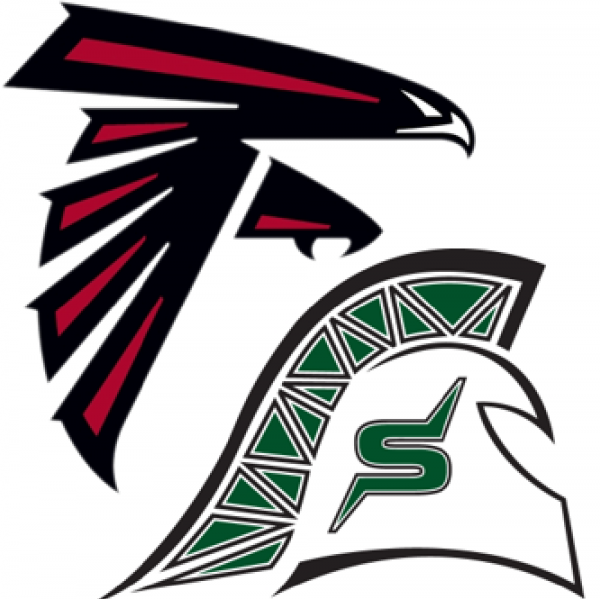Bemis Spartans & Ford II Falcons Team Logo