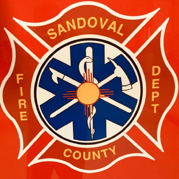 Sandoval County Fire Department Team Logo