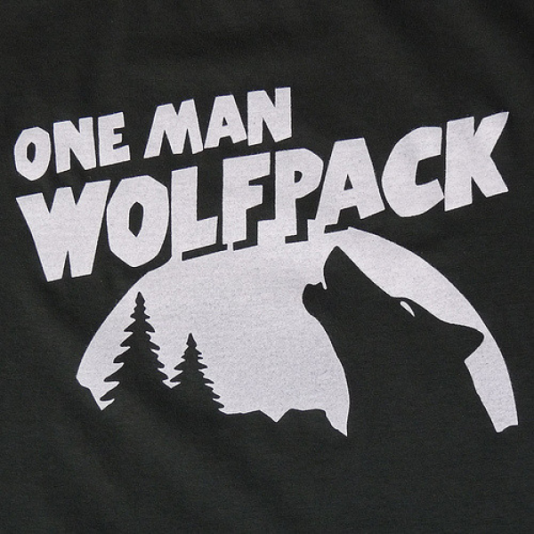 One Man Wolfpack Team Logo
