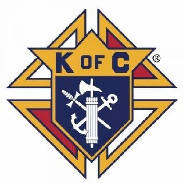 K of C Father Perez Council #1444 Team Logo