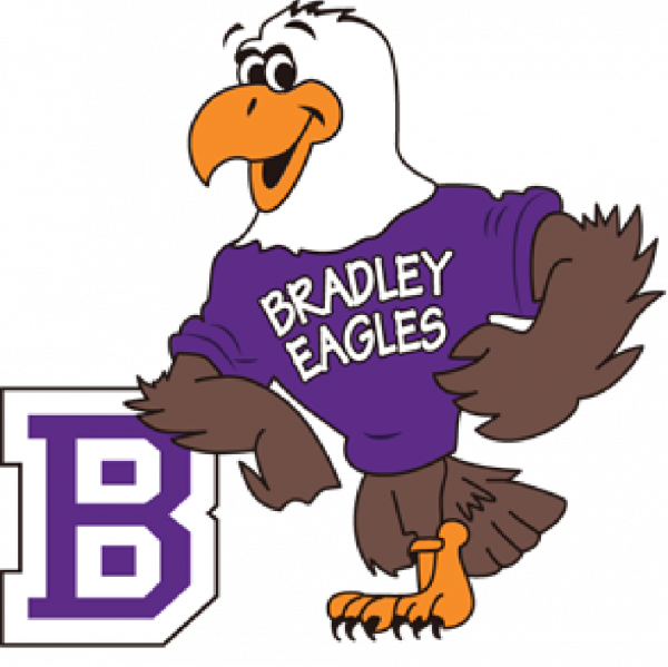 Bradley Bald Eagles Team Logo