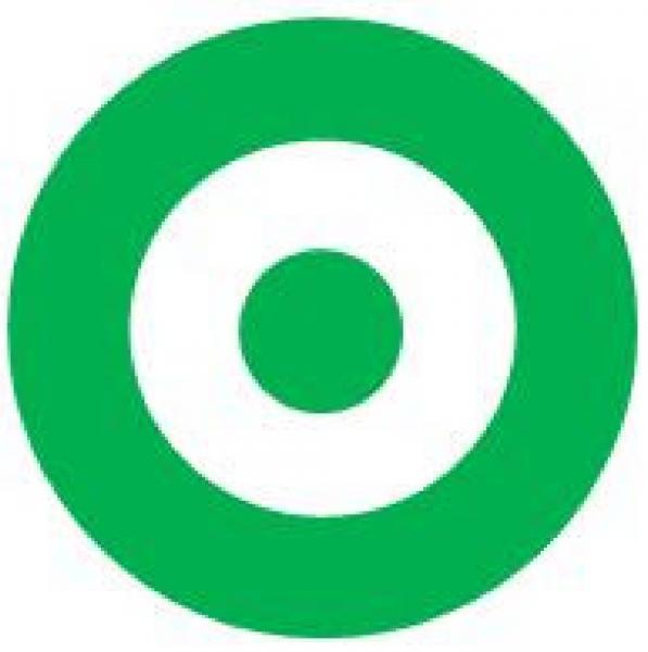 Bald with Bullseye Target T1462 Team Logo