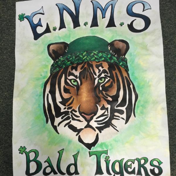 ENMS Bald Tigers Team Logo