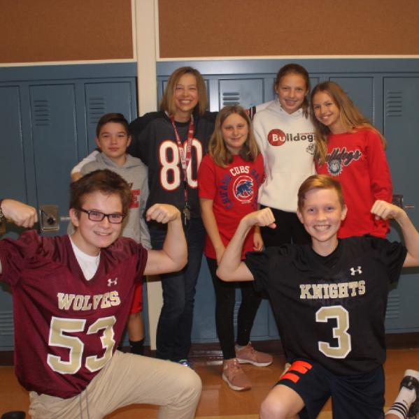 Taft Middle School Team Logo