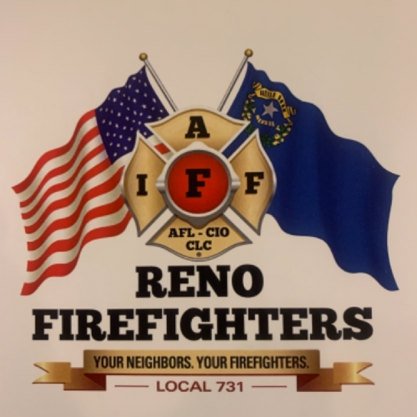 Reno Firefighters Association Team Logo