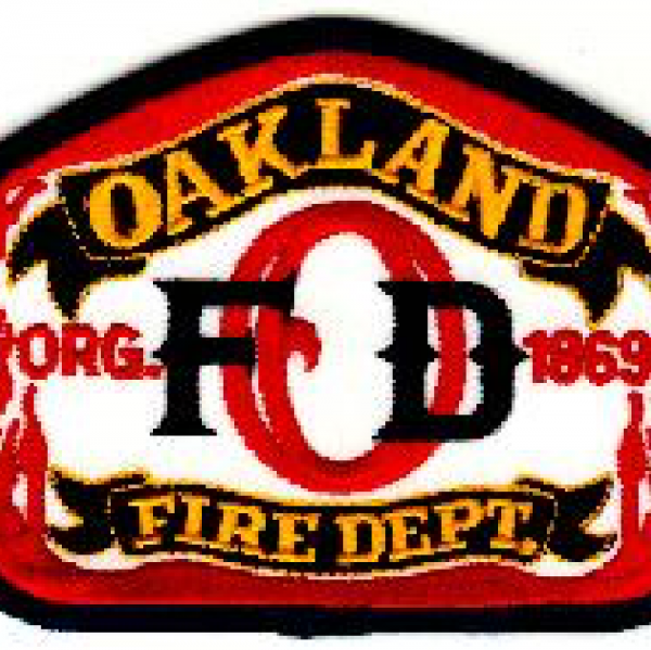 Oakland Firefighters Team Logo