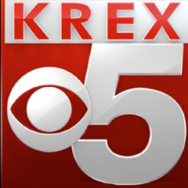 Ada Bergstrom with KREX-TV Team Logo