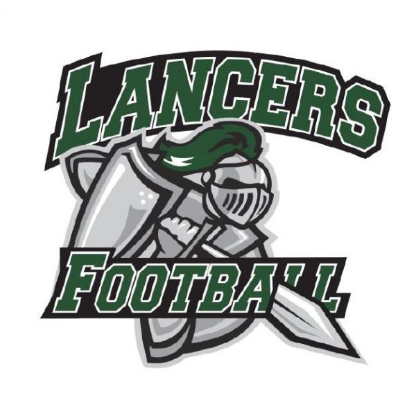 Livingston H.S. Lancers Football Team Logo