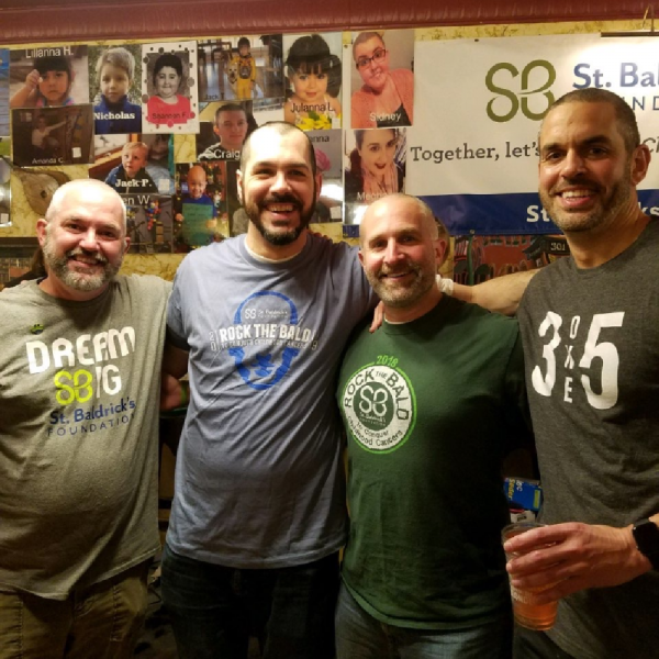 Bocce Balds (and friends) Team Logo