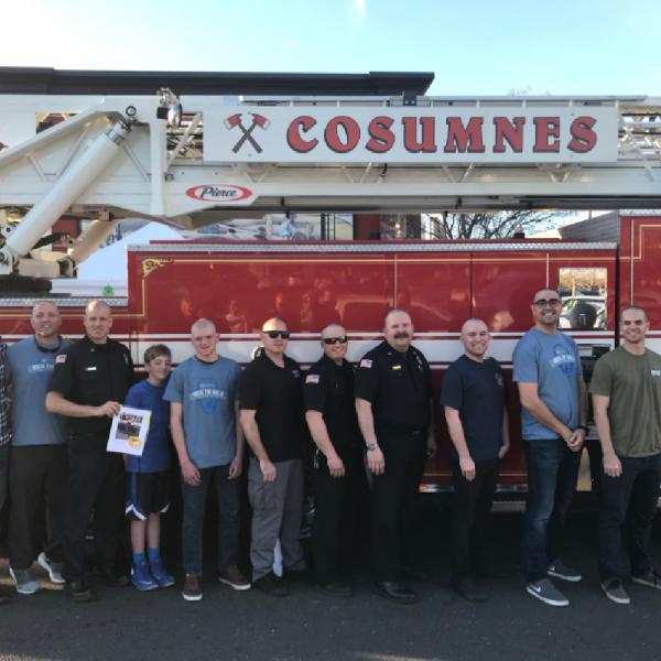 Cosumnes Fire Department Team Logo