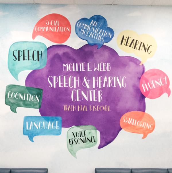 LSUHSC-S School of Allied Health Professions, Speech-Language Pathology Team Logo