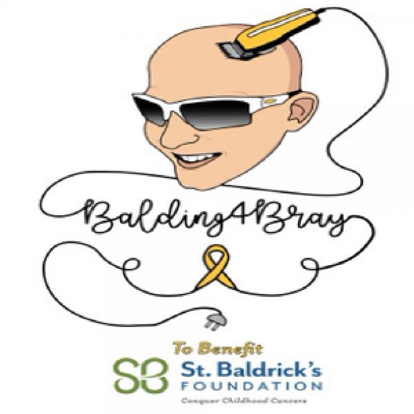 #Balding4Bray Team Logo
