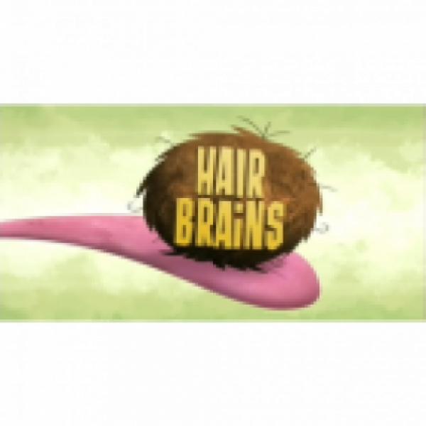 Hair Brains Team Logo