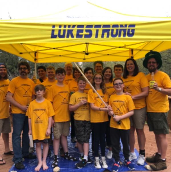 Team LukeStrong Team Logo