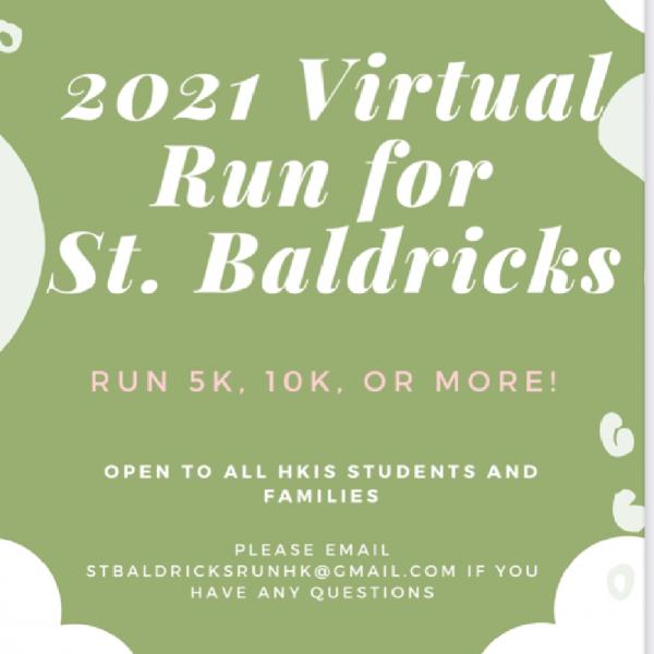Run for St. Baldrick's Foundation Team Logo