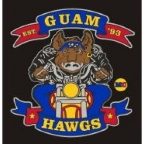 Guam Hawgs Motorcycle Club (GHMC)'s Logo