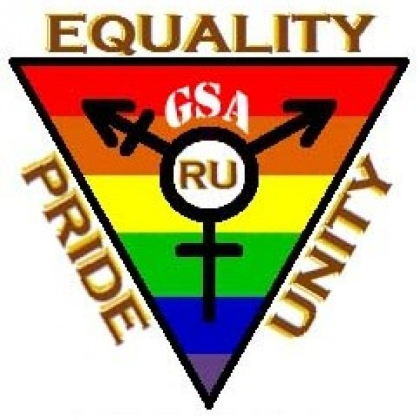Rowan University's Gay-Straight Alliance Team Logo