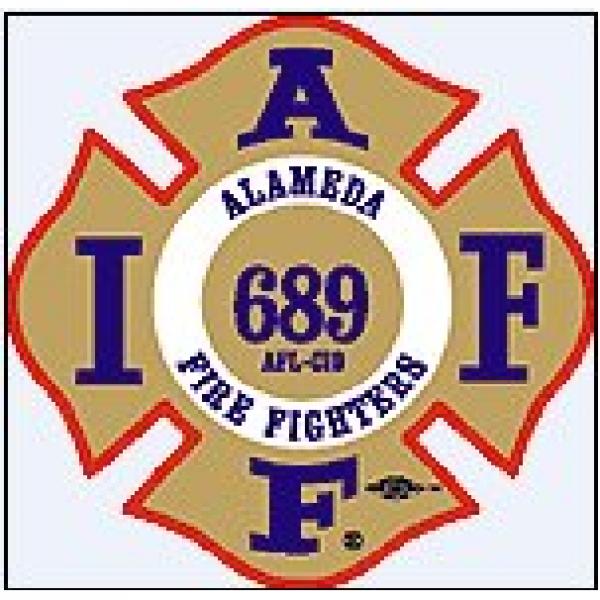Alameda Firefighters Local 689 Team Logo