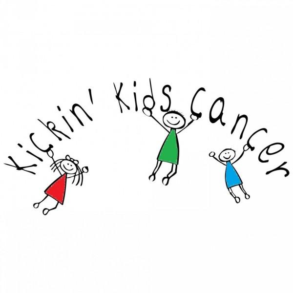 Kickin Kids Cancer Team Logo