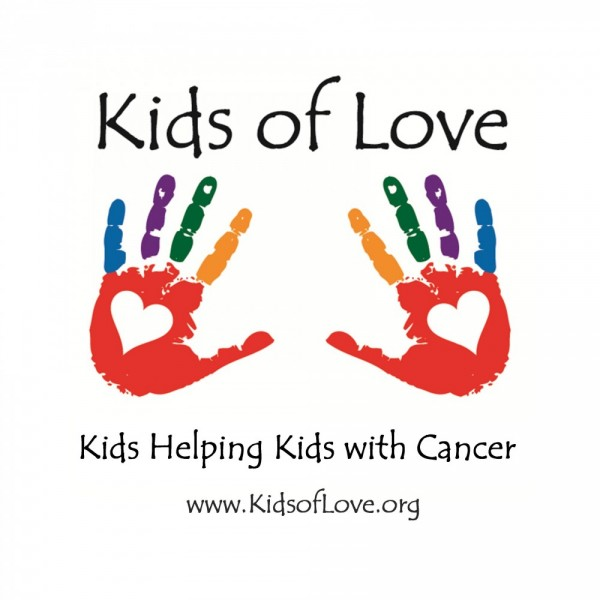 Kids of Love - Kids Helping Kids with  Cancer Team Logo