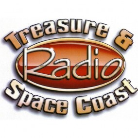 Treasure and Space Coast Radio's Logo