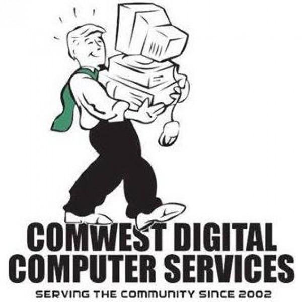 Comwest Digital Computer Services Team Logo