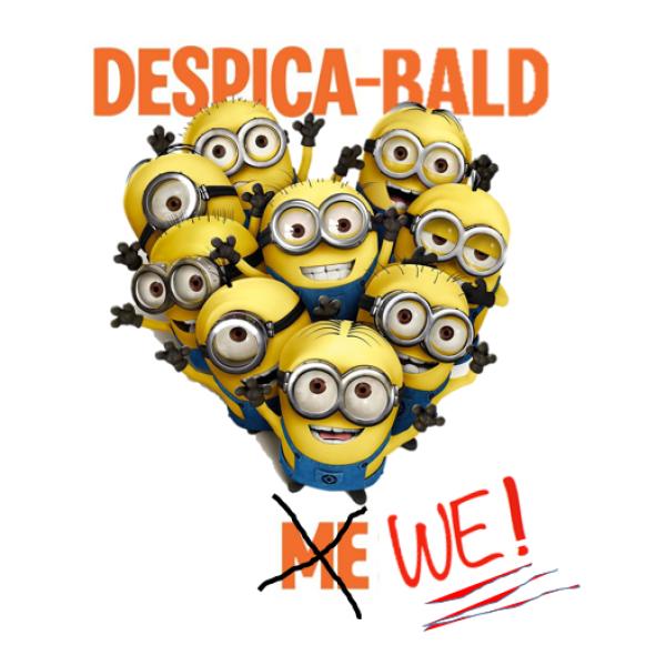 DESPICA-BALD WE! Team Logo