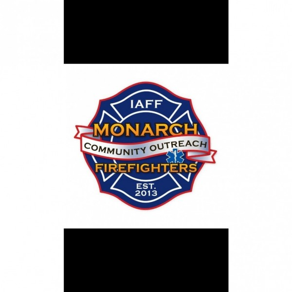 Monarch Firefighters Community Outreach Team Logo