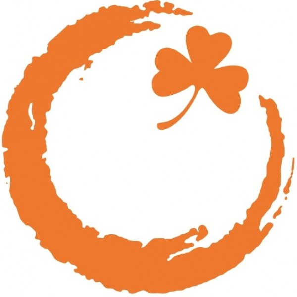 Orange Clover for a Cure Team Logo