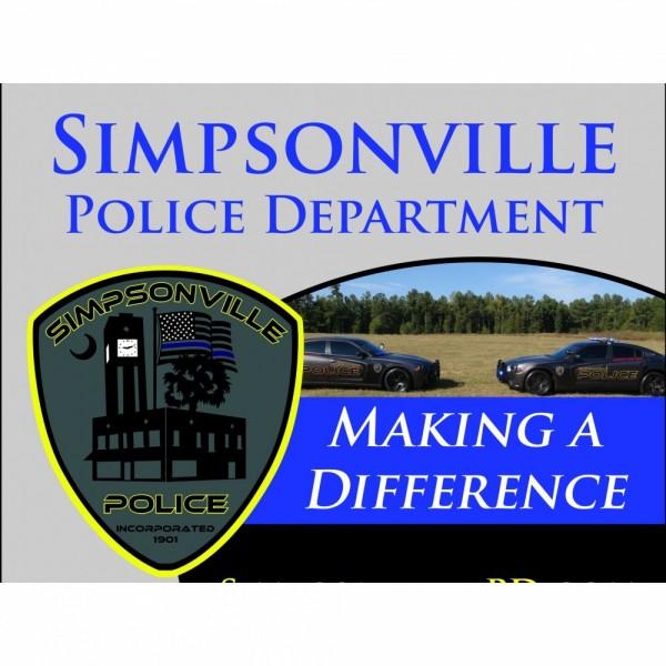 Simpsonville Police Department Team Logo