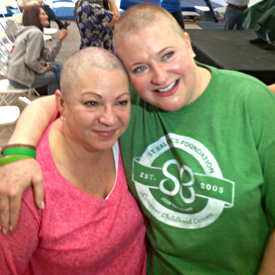 Kathleen-and-Annette-bald