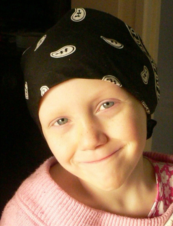 Grace while in treatment for childhood cancer