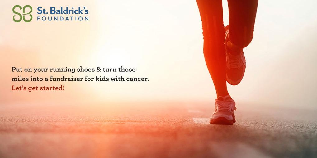run to help kids with cancer