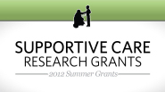 St. Baldrick's 2012 Summer Grants: Supportive Care