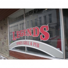Legends Pub Grill Menu