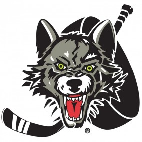 Chicago Wolves at the Allstate Arena  Logo