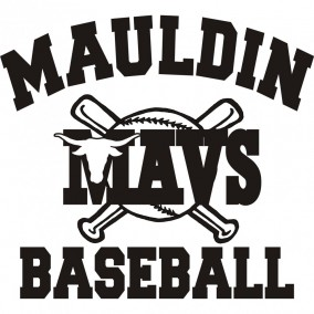 Mauldin High School Baseball Logo
