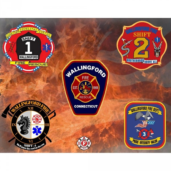wallingford fire Logo
