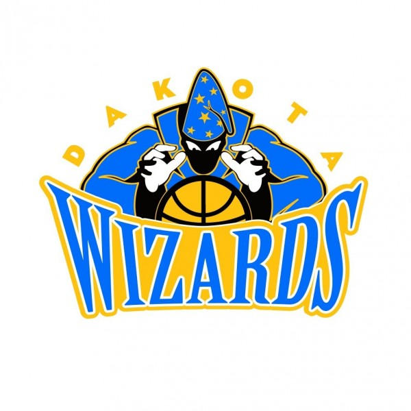 Team Dakota Wizards Logo